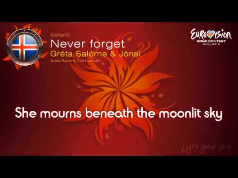 Never Forget-Eurovision 2012-Karaoke with lyrics