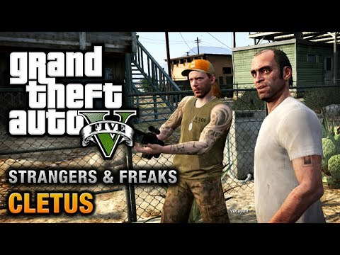 GTA 5 - Cletus [100% Gold Medal Walkthrough]