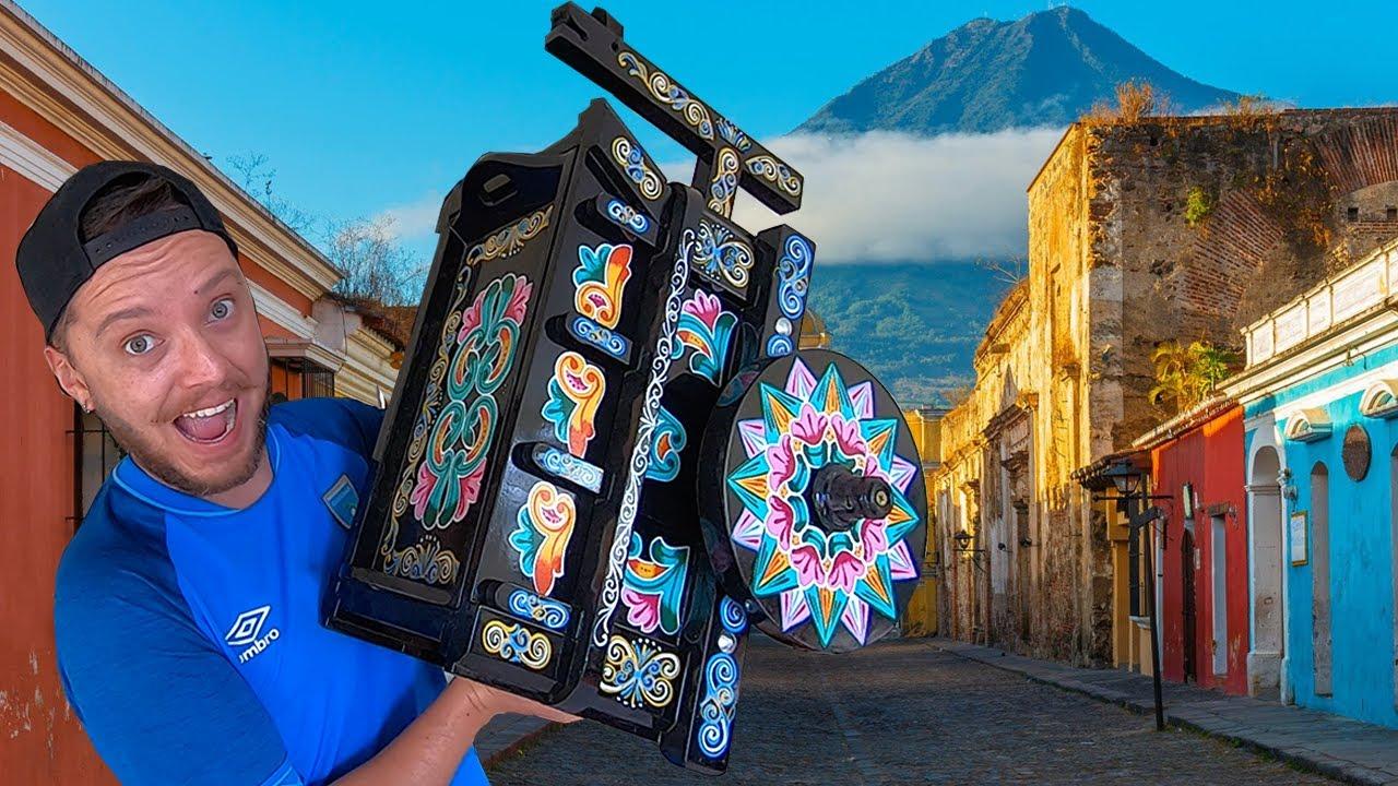 ¿Por qué viajé con una CARRETA DE SARCHI hasta GUATEMALA?
