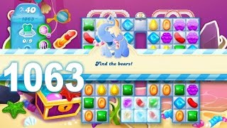 Candy Crush Soda Saga Level 1063 (No boosters)