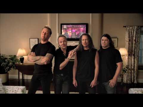 [HD] Guitar Hero Metallica with Coaches Bob Knight, Mike Krzyzewski, Rick Pitino & Roy Williams