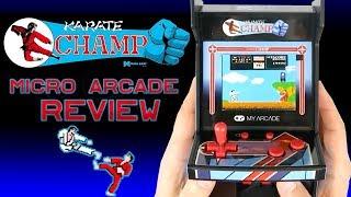 """Karate Champ"" Micro Arcade Review"