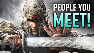 9 Players You Meet In Every For Honor Match! | The Leaderboard