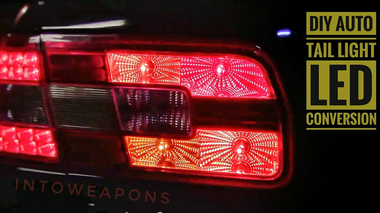 Delightful DIY LED Tail Light Conversion: 194 LED Color Comparisons Amazing Ideas