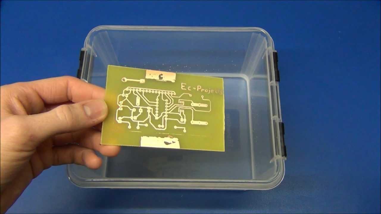 Pcb Projects Circuit Board Maker Buy Makershenzhen Ec Diy Boards Part Toner Transfer Youtube 1280x720
