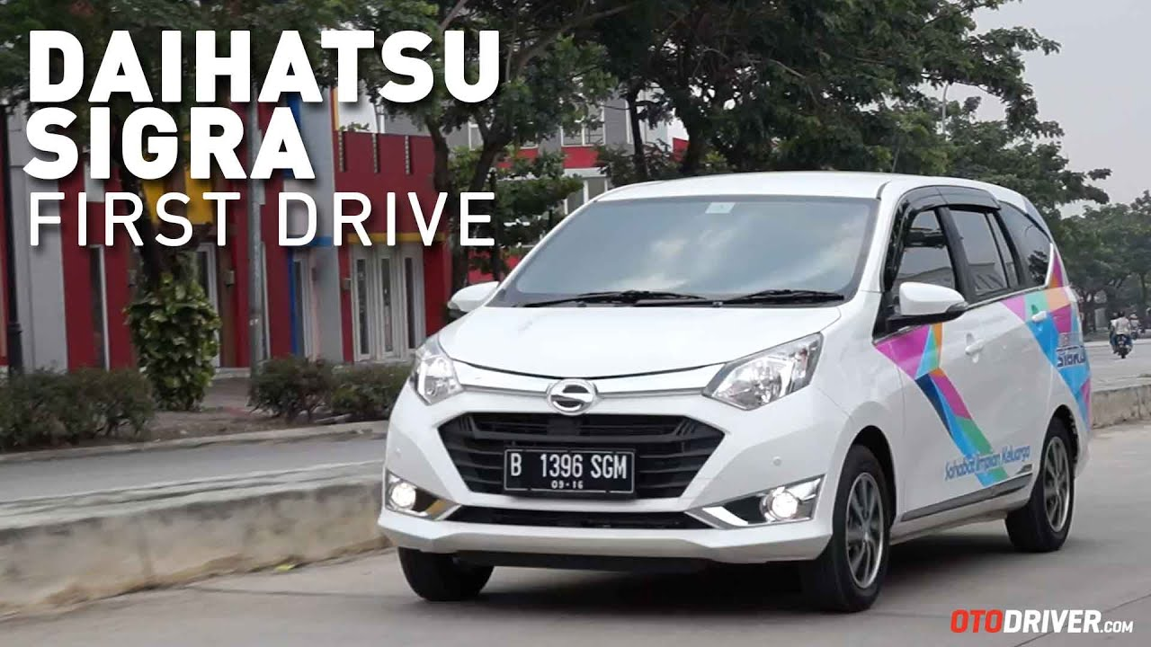 Daihatsu Sigra 2016 First Drive Review Indonesia