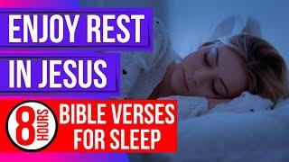 Rest in Jesus - Naṁes of Jesus Bible verses for sleep (Peaceful Scriptures)(Sleep with God's Word)