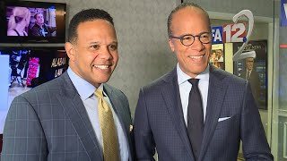 Lester Holt makes Across America Tour stop in Alabama