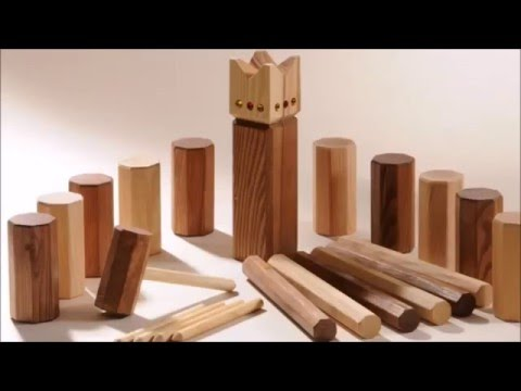 How to Build the Game Kubb - YouTube