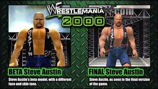 WWF WrestleMania 2000 - Beta vs Final Version