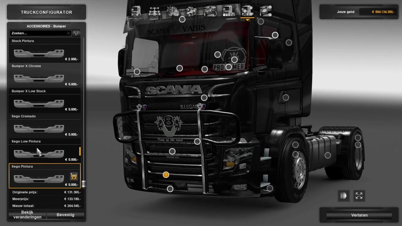 V8 illegal reworked truck v5 0 simulator games mods download -  Ets2 V1 26 Scania Illegal V8 Reworked V5 0