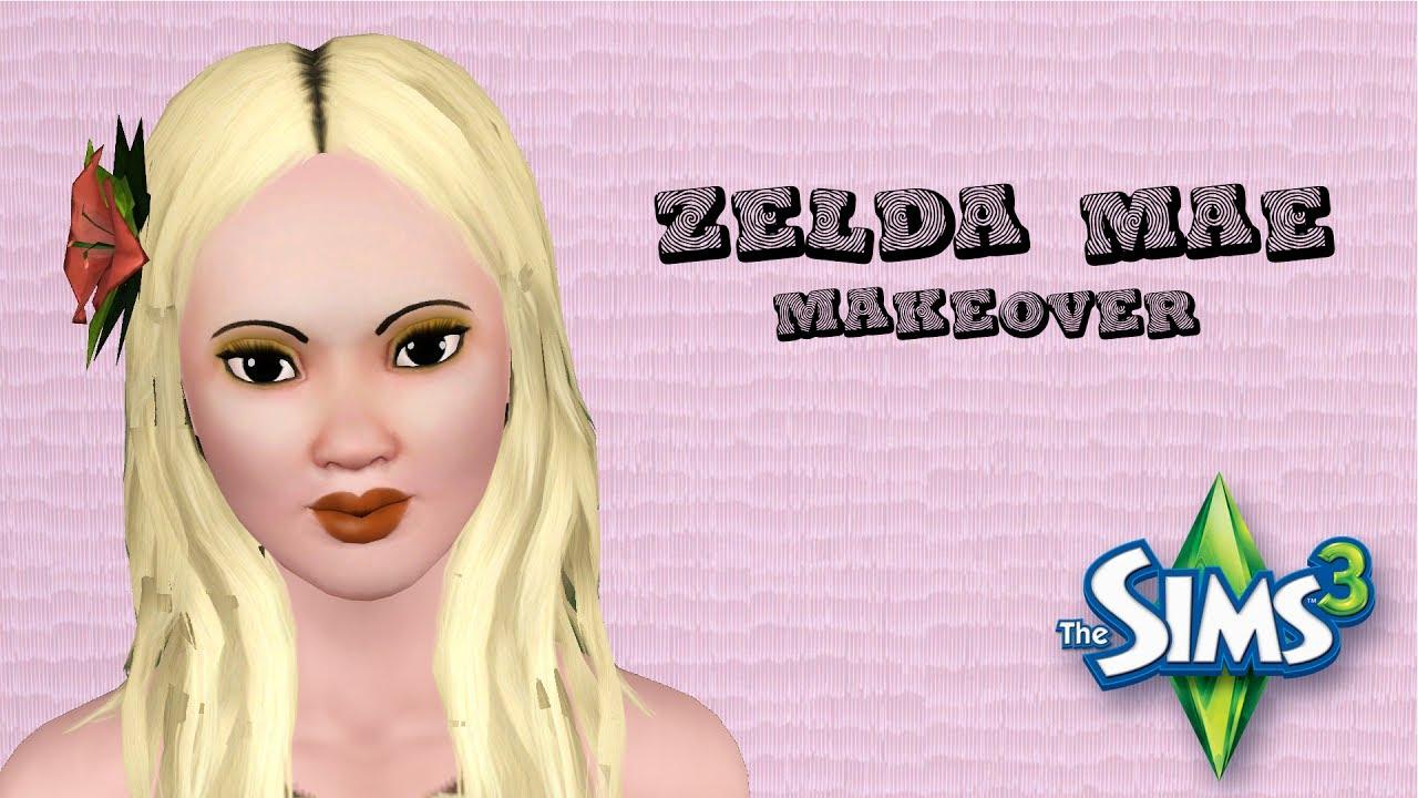 Zelda Mae! Sunset Valley Townie Speed Makeover!