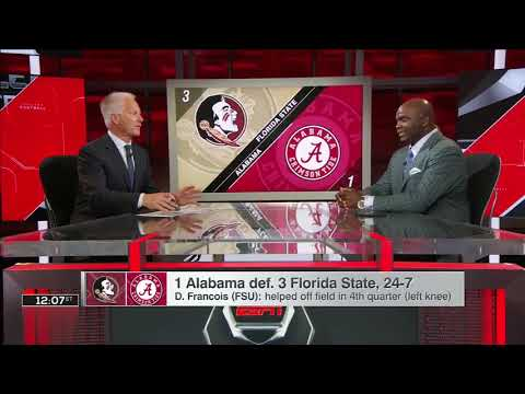 Booger McFarland thinks FSU is OK with or without injured QB Deondre Francois | SportsCenter | ESPN