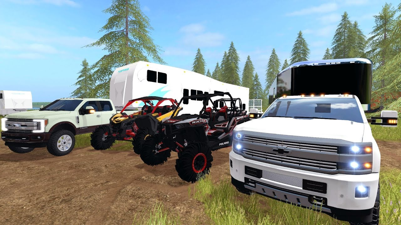 going-camping-utv-racing-brand-new-polaris-razor-release-new-chevy-2500-multiplayer