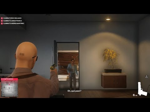 Hitman 2 - Colombia - Unlocking the safe in Rico Delgado's office - Three Headed Serpent