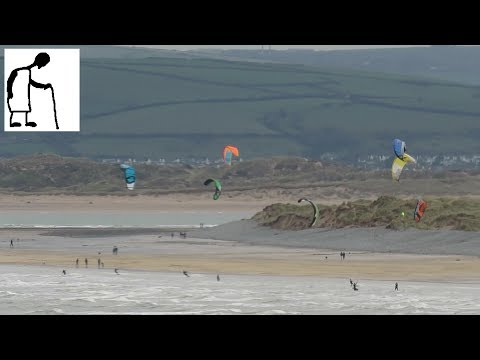 Kite Surfers @ Westward Ho! 20 minutes