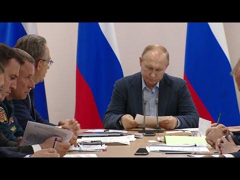 Путин раскритиковал ход