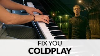 Coldplay - Fix You (HQ Piano Cover)