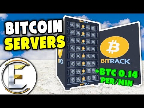 Bitcoin Mining Servers - Gmod DarkRP Life (Makes A Lot Of Money, Bitcoin Miner Can Be Overclocked)