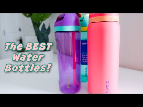 Owala Bottles Review! | The BEST water bottle 2020 | The water bottle you didn't know you needed!