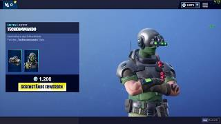 Fortnite *NEW* TECHKOMMANDO SKIN - TECH OPS SKIN | KOAXIALHELI GLEITER | Itemshop 25.01.2019