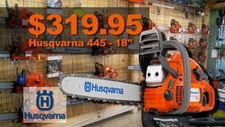 Scotty's Cutters Edge - Husqvarna Chainsaws