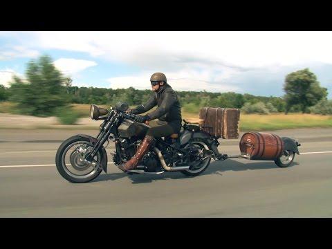Документальный фильм о прицепах к Мотоциклам Yamaha Road Star и Honda Gold Wing Хонда Голд Винг