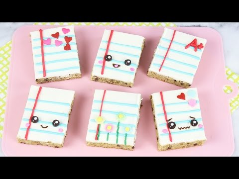 How to Make Back to School Blondies!