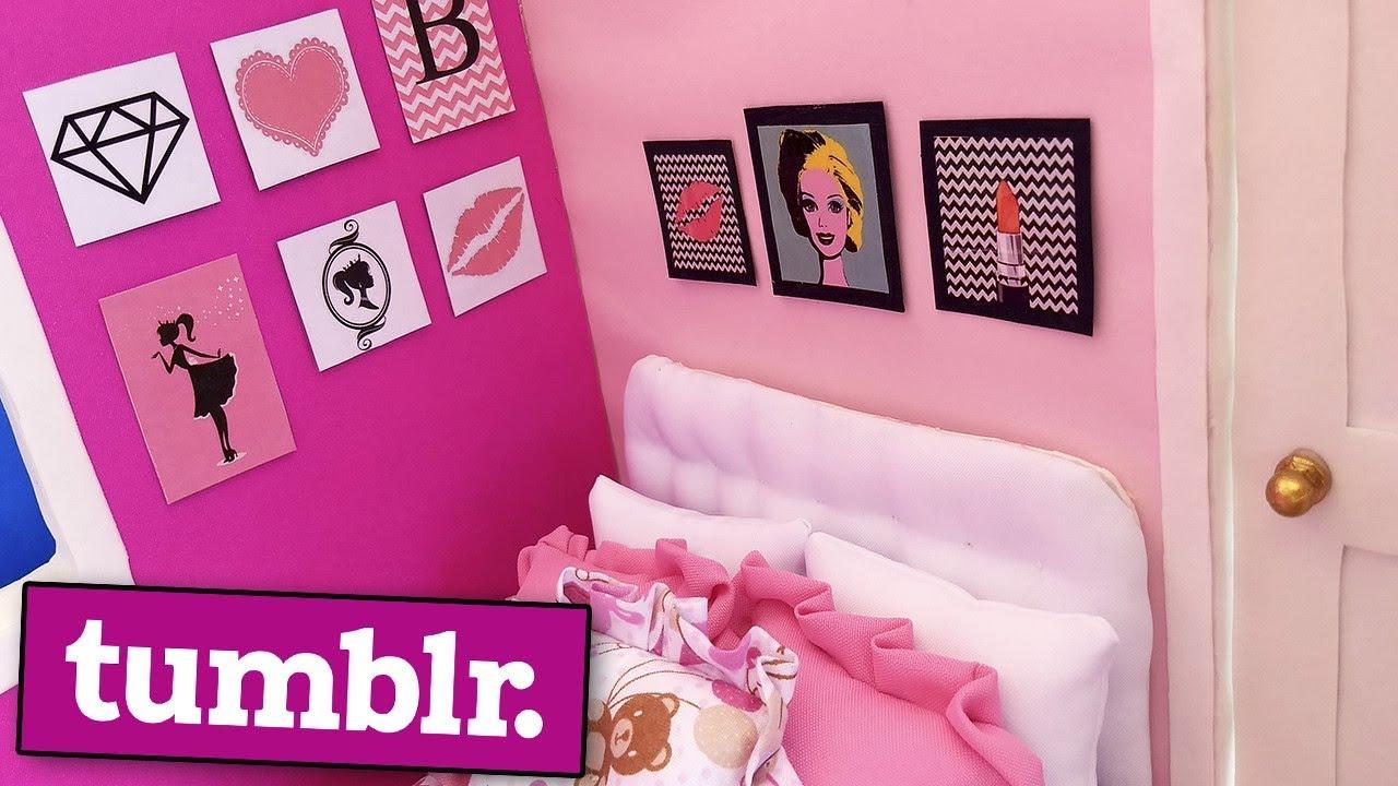 Quadros Tumblr Da Barbie Como Fazer Coisas Para Barbie E Outras