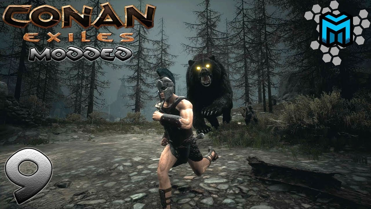 MONSTER BEARS AND WOLVES EP09 | MODDED Conan Exiles
