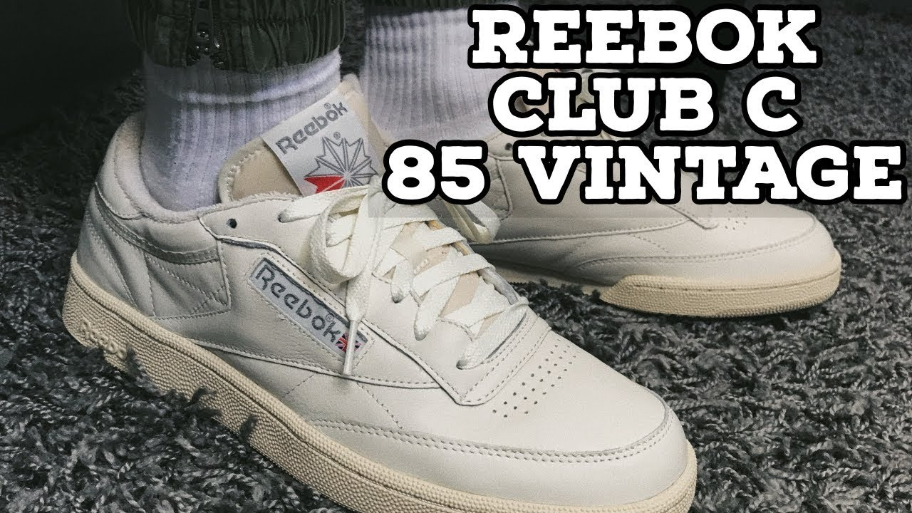 cáncer medida sabor dulce  Reebok Club C 85 Vintage Review - YouTube