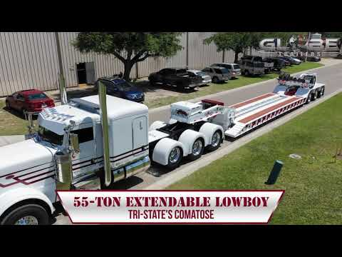 Globe Trailers: Tri-State's 'Comatose' Extendable Lowboy Trailer