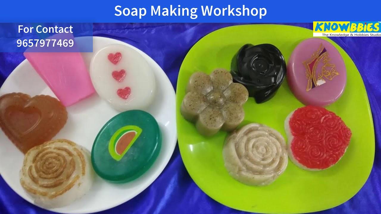 Handmade Soap Making Class Pune   Learn Soap Making