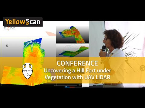 LiDAR for Drone 2017 - Uncovering a hill fort under vegetation with LiDAR by Aird