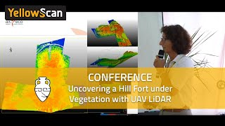 LiDAR for Drone 2017 - Uncovering a hill fort under vegetation with LiDAR by Aird'Eco