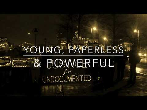 Undocumented youth organising  in Ireland - About Young Paperless and Powerful