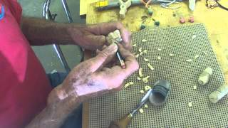 Carving A Necklace Set By Darryl Easter