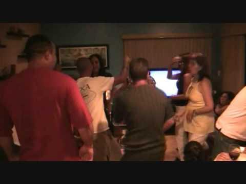 8/21/2009 El Cumpleaño de Fe y Felix Parte 2
