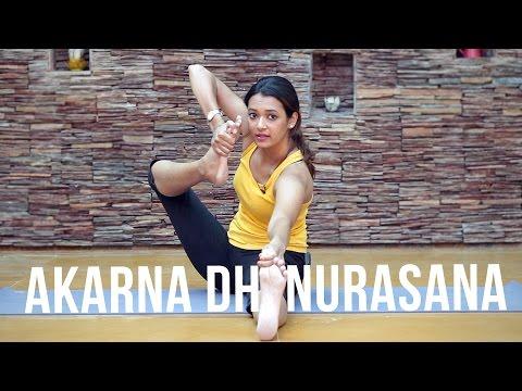 How to do Akarna Dhanurasana - The Shooting Bow Pose