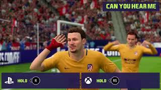 All Fifa18 Running Moves Celebrations