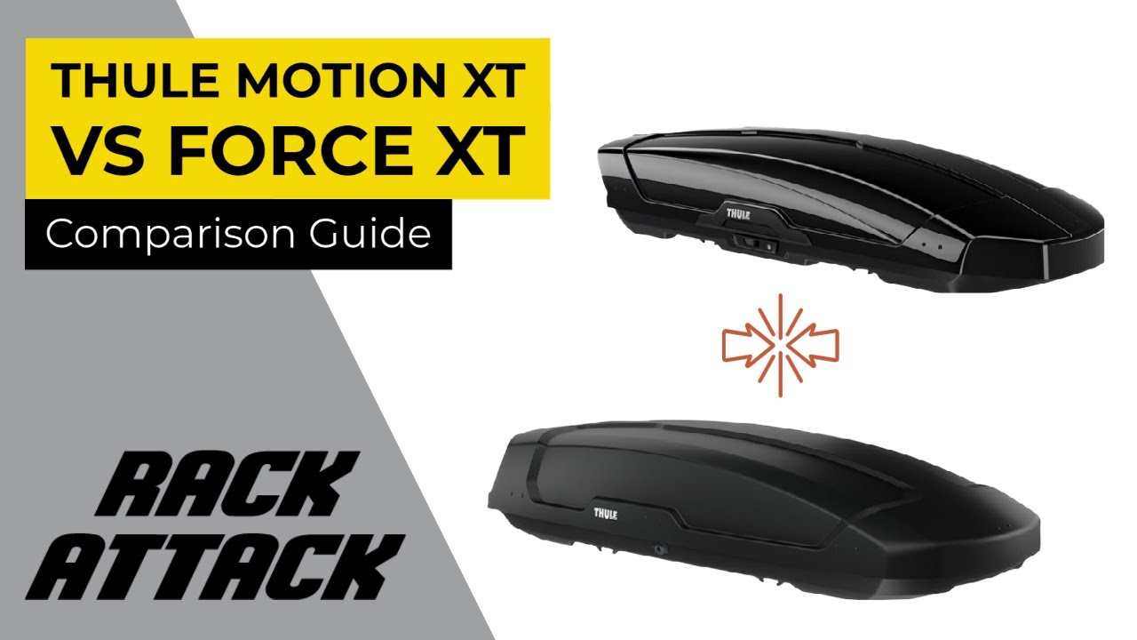 Thule Motion Xt >> Thule Motion XT and Force XT Cargo Box Comparison by Rack Outfitters - YouTube