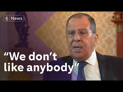 Exclusive: Sergey Lavrov, Russia's Foreign Minister, on Skripals, Trump 'kompromat' claims and OPCW
