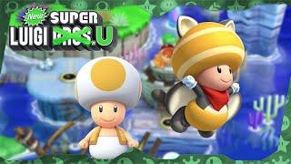 New Super Luigi U Deluxe ᴴᴰ   World 3 (All Star Coins) Solo Toad