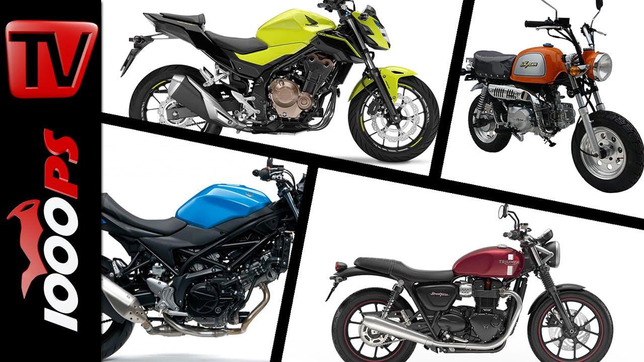 10 Motorräder Mit Niedriger Sitzhöhe 2016 Youtube