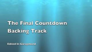 The Final Countdown Backing Track