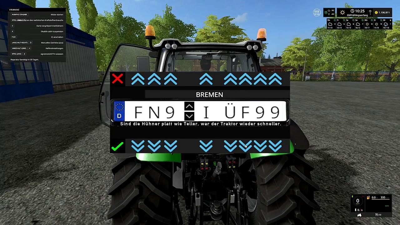 LS 17 Darki stellt vor # 50 Deutz Fahr Agrotron 620 TTV - YouTube