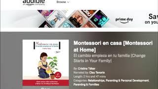 Audiolibro: Montessori en Casa. Narrado por Klau Tenorio