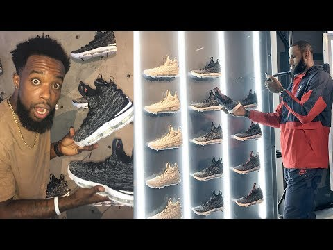 Thumbnail: SHOPPING AT LEBRON JAMES LIMITED/SECRET POP UP SNEAKER SHOP IN CLEVELAND!