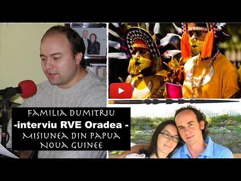 Familia Dumitriu - Interviu RVE despre misiune din Papua Noua Guinee