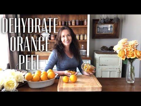How to Dehydrate Orange Peel